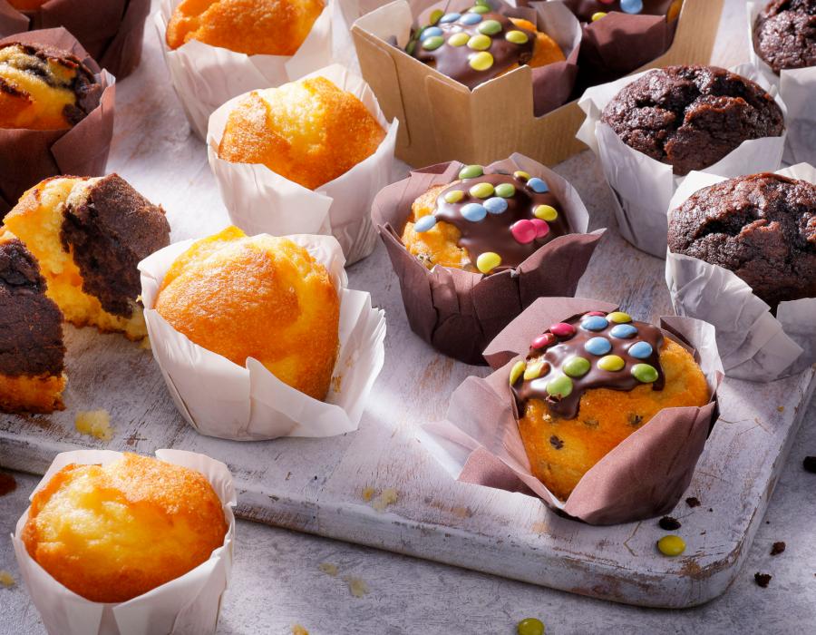 Wij, de Muffinmasters, bakken iedere dag met veel passie en kennis de lekkerste muffins